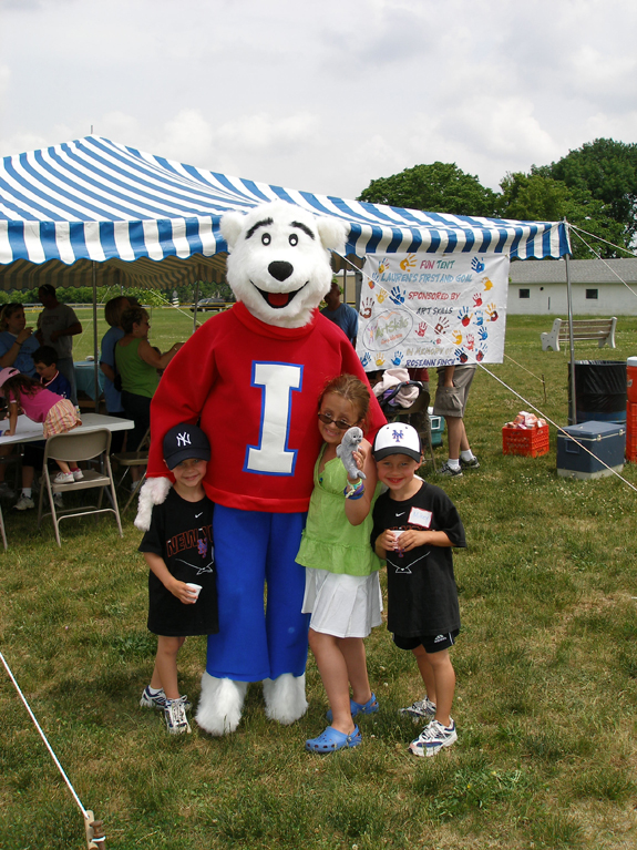 LFG Football Fun Tent Icee Bear